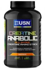 USN Creatine Anabolic 900 g - pomaranč