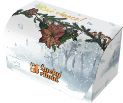 Lucky Alvin Vianočná dárková krabička