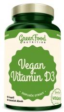 GreenFood Vegan Vitamin D3 60 kapsúl
