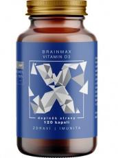 BrainMax Vitamin D3 5000 IU 120 rostlinných kapsúl