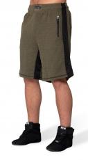Gorilla Wear Pánske šortky Augustine Old School Shorts Army Green