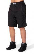Gorilla Wear Pánske šortky Augustine Old School Shorts Black