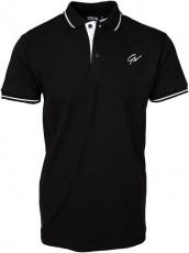 Gorilla Wear Pánske polo tričko Delano Polo Black/White