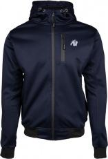 Gorilla Wear Pánska bunda Glendale Softshell Jacket Navy Blue