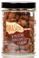 Big Boy Arašidy v mléčné čokoládě a kakau