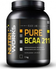 NUTRIWORKS PURE BCAA 2:1:1 1000 g - natural