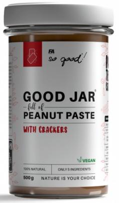 FA So Good! Good Jar arašídové máslo 500 g ochucené VÝPREDAJ