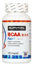 Survival BCAA 2:1:1 Fair Power® 150 kapsúl