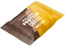 Myprotein Filled Protein Cookie 75 g - dvojitá čokoláda/karamel