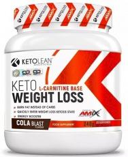 Amix KetoLean Keto goBHB Weight Loss 240 g
