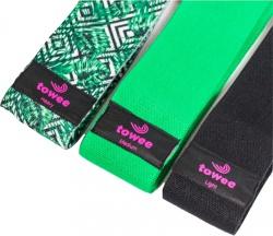 Towee Booty Band textilná odporová guma sada 3 ks