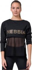 Nebbia Intense Mesh tričko 805