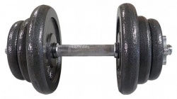 Acra Jednoruční litinová nakládacia činka 20 kg