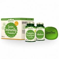 GreenFood Junior Immunity & Prebiotics + pillbox 60 + 90 kapsúl