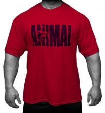 Universal triko Animal Iconic T-Shirt červené