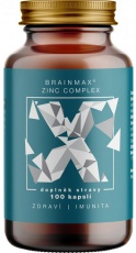 BrainMax Zinc Complex 100 kapsúl