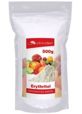 Zdravý deň Erytritol nízkokalorické sladidlo 500 g