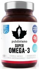 Puhdistamo Super Omega 3 60 kapslú