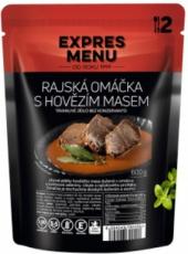Expres menu Rajská omáčka s hovädzím mäsom 600g