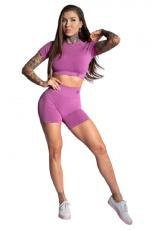 Gym Glamour Kraťásky Pink Ombre