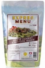 Expres menu Zelené fazuľky s hovädzím mäsom 300g