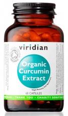 Viridian Organic Curcumin Extract 60 kapsúl