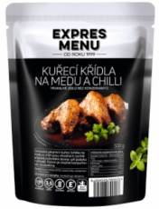 Expres menu Kurecí krídla na medu a chilli 300g