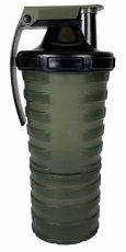 Nuclear Nutrition Šejker 600 ml s dávkovačom - čierno/zelený