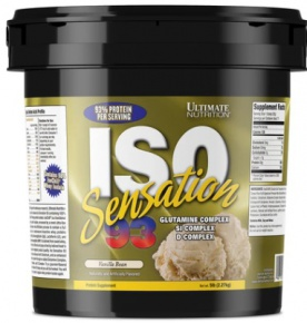 Ultimate Nutrition Iso Sensation 93 2270 g
