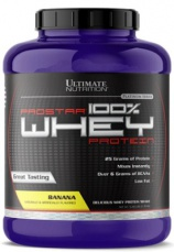 Ultimate Nutrition Prostar 100% Whey Protein 2300 g