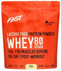 Fast Lactose Free Protein Powder Whey 80 Hera 600 g