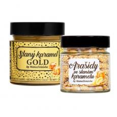Big Boy Slaný karamel GOLD 250 g + Arašidy v slanom karamelu 130 g @mamadomisha