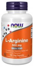 Now Foods L-Arginine 500mg 100 kapsúl