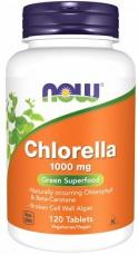 Now Foods Chlorella 1000 mg 120 tabliet