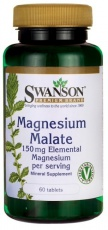 Swanson Magnesium Malát 150 mg 60 tabliet