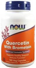 Now Foods Quercetin & Bromelain 120 kapsúl