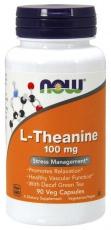 Now Foods L-theanin 100 mg 90 kapsúl