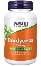 Now Foods Cordyceps 750 mg 90 kapsúl