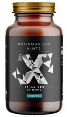 Brainmax CéBéDé Mints 15 mg, 60 cukríkov
