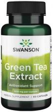 Swanson Green Tea Extrakt 60 kapsúl