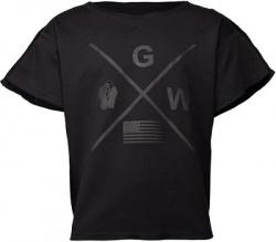 Gorilla Wear Pánske tričko s krátkym rukávom Sheldon Workout Black