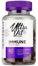 UltraVit Gummies Immune Support 60 želé cukríkov