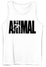 Universal Animal Pánske tielko biela