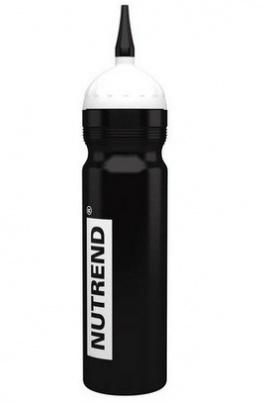Nutrend Bidon športová fľaša 1000 ml - čierna s hubicí