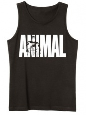 Universal Animal Pánske tielko Iconic Tank Top čierna