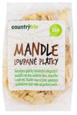 Country Life BIO Mandle lúpané plátky 100 g