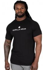 Gorilla Wear Pánske tričko Davis T-shirt Black