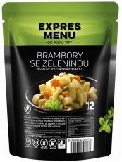 Expres menu Zemiaky so zeleninou 400 g