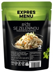 Expres menu Dusená ryža so zeleninou 400 g