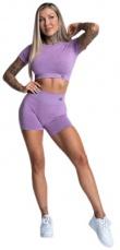 Gym Glamour Kraťasky bezšvíkové Lilac